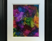 Blooming Colors - Original Abstract Painting by Tandy