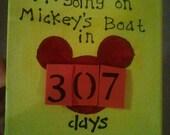 Customizable Magnetic Disney Countdown Calender
