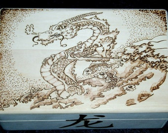 Chinese Smoking Dragon Box