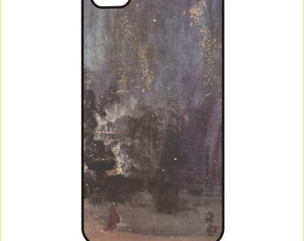 Whistler - Nocturne in Black and Gold - iPhone / Android Phone Case / Cover  -  iPhone 4 / 4s, 5 / 5s, 6 / 6 Plus, Samsung Galaxy s4, s5