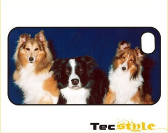 Collie Trio - iPhone / Android Case / Cover - iPhone 4 / 4s, 5 / 5s, 6 / 6 Plus, Samsung Galaxy s4, s5