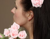 rose hair pins, nice barrettes, different colors are available, 7 pcs