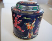 Asian Blossom Tin