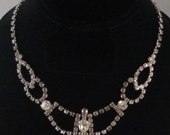 Elegant Rhinestone Necklace