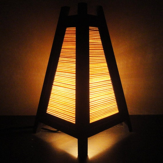 Wood Led Desk Lamp