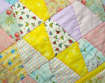 Soft Tumbler Baby Quilt