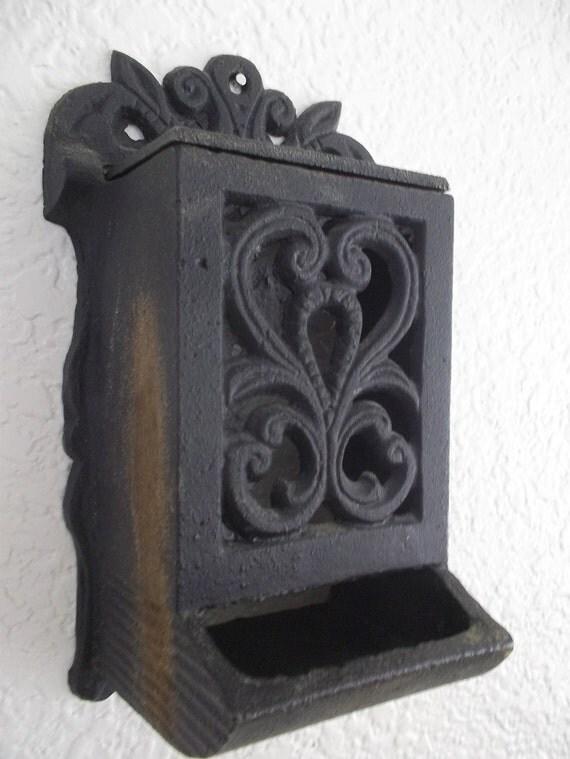 Matchsticks A Vintage Fireplace Matches Holder