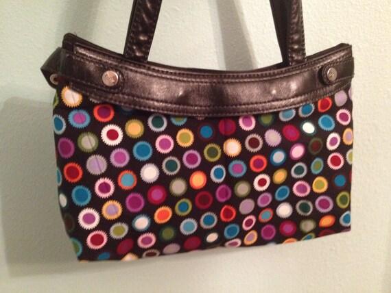 Product 31- Purse Skirt- Reversible- Polka Dots