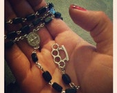 Brutal Brass Knuckle Rosary