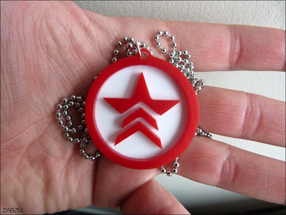 Mass Effect Renegade Necklace