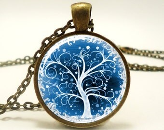 Tree Of Life Pendant, Woodland Jewelry, Bronze (0363B1IN)