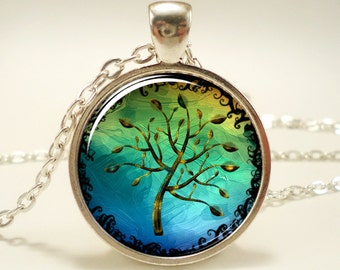 Tree Of Life Necklace, Gifts For Her, Gift Ideas (0625S1IN)