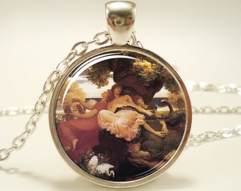 The Garden of the Hesperides Necklace, Artwork By Artist Frederic Leighton (0596S1IN)