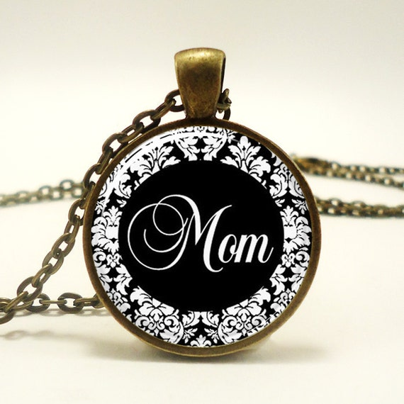 Mothers Day Gift Idea, Gifts For Mom, Mom Necklace  (0675B1IN)