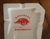 Arkansas Razorbacks Ashtray