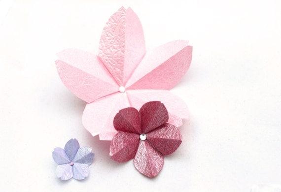 Origami Cherry Blossom Tutorial  Paper Kawaii