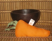 Dog/Cat Toy - Carrot w/ Squeaky or Catnip