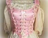 Custom Renaissance Corset, SCA, Larp, Fairy, Re-Enactment, With Removeable Shoulder Straps