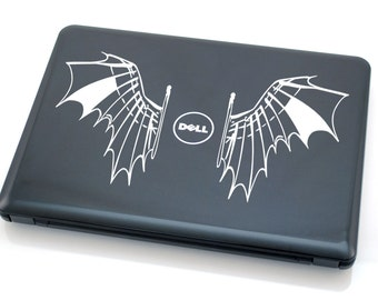 DELL Da Vinci laptop vinyl decal tablet decal (ID: 181003)