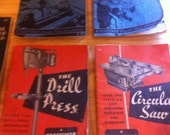 Lot of Seven (7) Vintage Power Tool Handbooks - Collectible