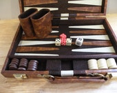 Vintage Backgammon Set - EXTRA BALLER