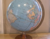 Vintage Cram Globe - World Book Edition