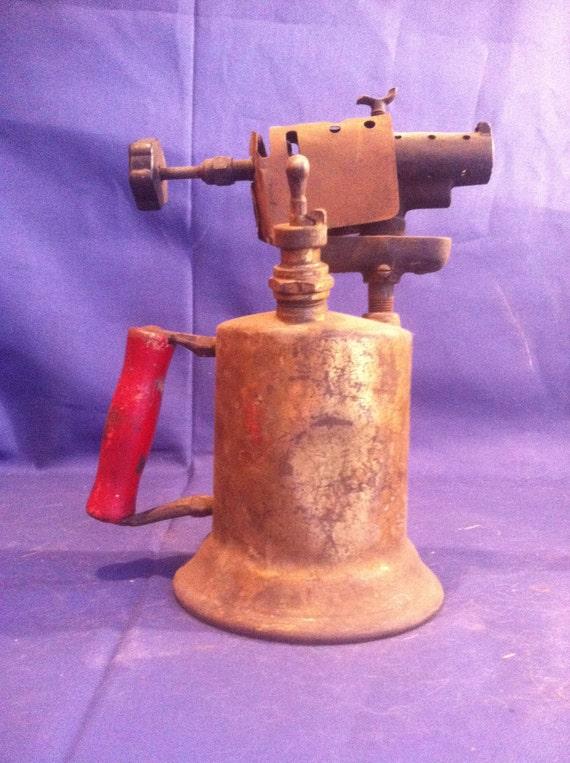 Antique 1921 Clayton & Lambert Mfg Co Brass Blow Torch - MUST HAVE