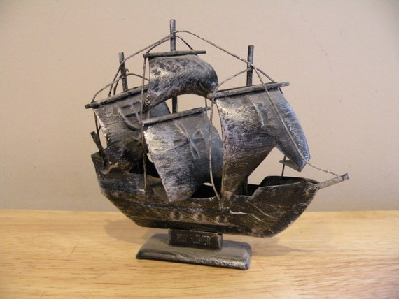 Tin Art - The Mayflower - THE CRUSHER