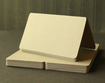 """12 - Wedding Place Card Tents / Place Settings / Small Cards - 3.5x2"""""""