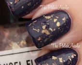 Angel Flakes - Gold Flakie Nail Polish - mini