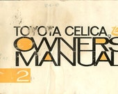 Unknown Year Toyota Celica Owner's Manual  96432