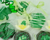 Chocolate Covered St Patrick's Day Oreo Cookie Favors & Chocolates