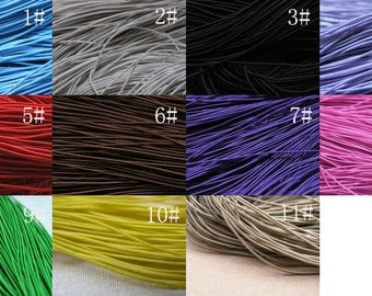 Optional Colors26 Meters/85ft Stretch Elastic Beading Cord/Thread Shock Cord Best For Bracelet Making Size 1.0mm 11 colors available