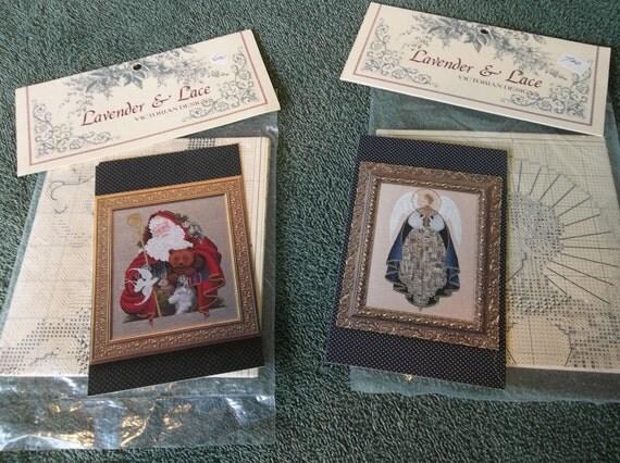 Two Lavendar & Lace Cross Stitch Charts