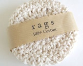 Crochet Coasters - All Cotton - Natural