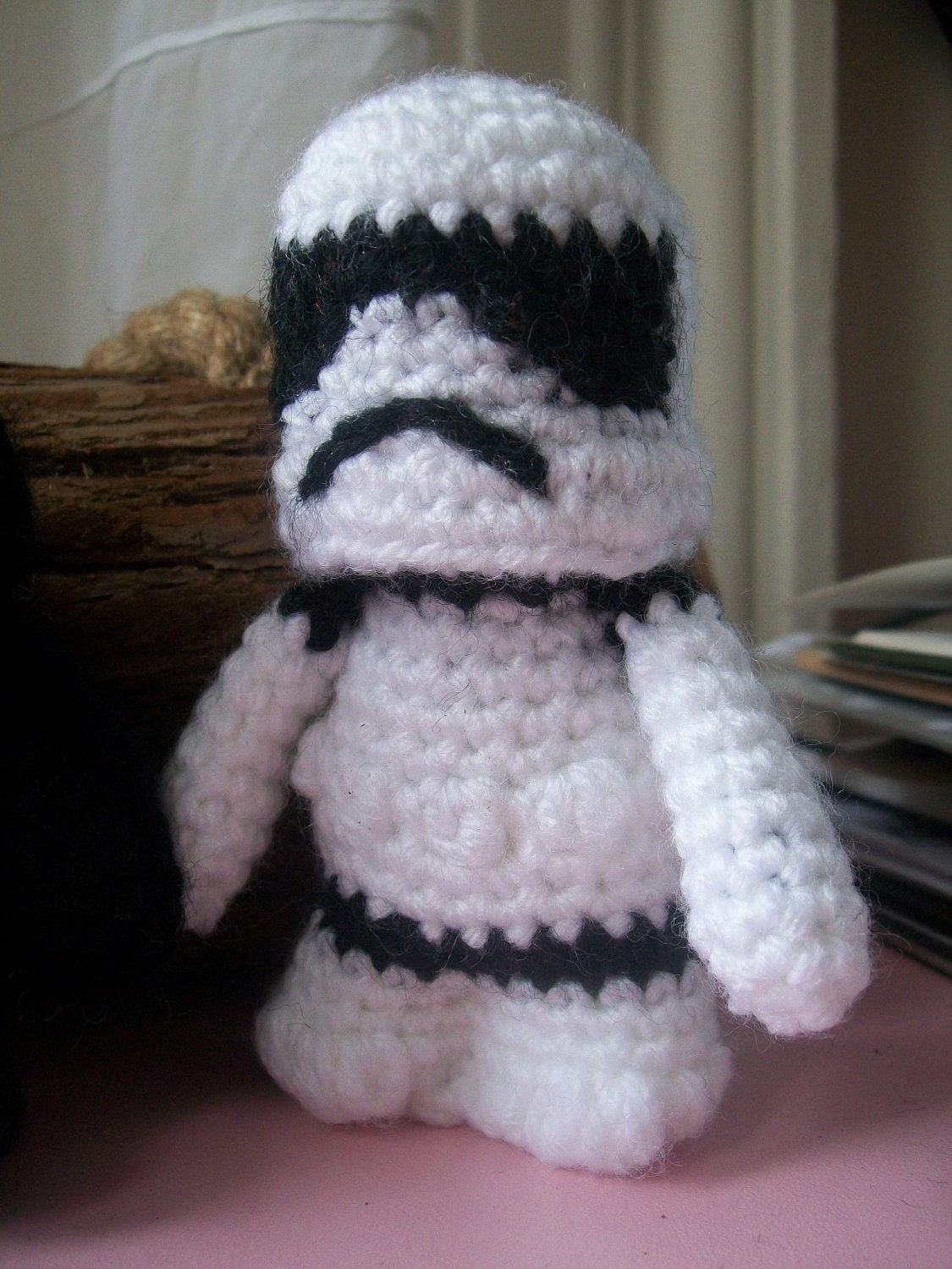 Crochet Patterns Star Wars : Stormtrooper Pattern Star Wars Amigurumi by SnorkersImaginarium