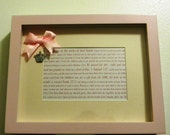 Baby Girl Scripture Frame (READY TO SHIP)