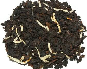 Creamy Coconut Vanilla Black Loose Leaf Tea (50 grams)