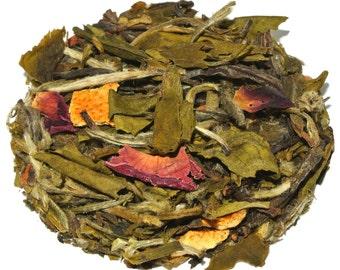 Winter Solstice White Loose Leaf Tea (50 grams), Low Caffeine Tea