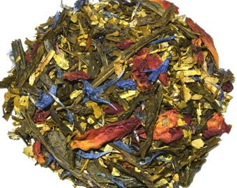 Black Forest Cake Green Loose Leaf Tea (50 grams)