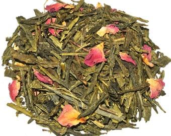 Cherry Samurai Green Loose Leaf Tea (50 grams)