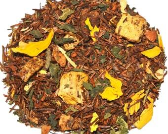 Pumpkin Pie Rooibos Tea (50 grams), Holiday Tea, Thanksgiving Tea, Desert Tea, Christmas Tea