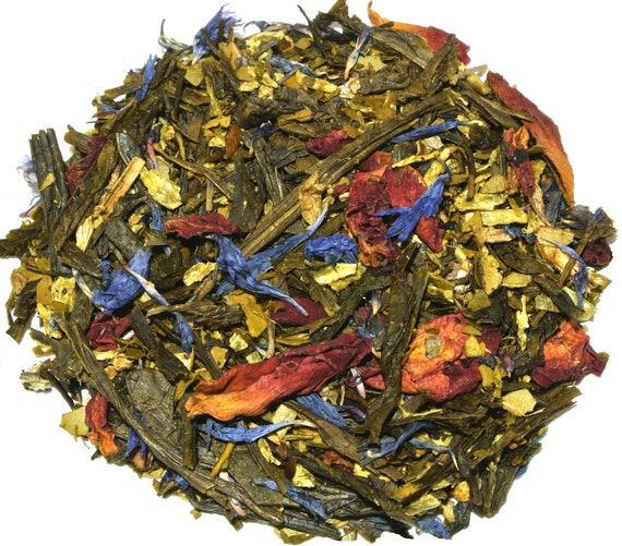 Black Forest Cake Green Loose Leaf Tea (50 grams)