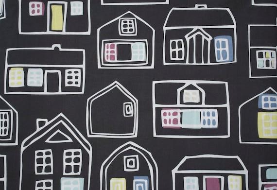 1.5 yards - Britten Hus  - Ikea Home Decor  fabric - 1.5 yds - LAST PIECE
