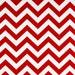 3 yards Red Chevron - Premier Prints   Zig Zag fabric - Lipstick Red / White - Home Decor