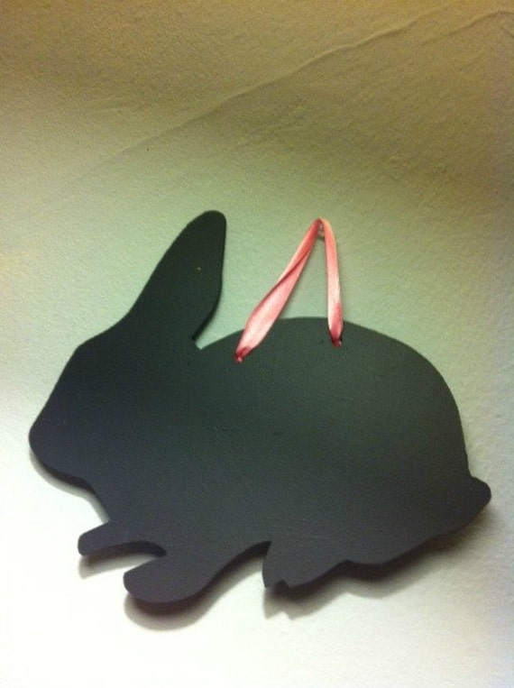 Chalk Board Rabbit