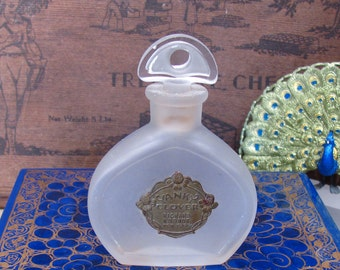 Richard Hudnut Perfume Bottle - Very RARE Vintage Yanky Clover Perfume Bottle (circa 1920)