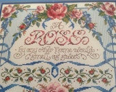 "Bucilla Counted Cross Stitch kit    ""PRICE REDUCTION""  40% OFF"