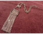 Stunning 70's Era -SIGNED Vintage Park Lane Ladies Polished Designer yg gold Plated Necklace