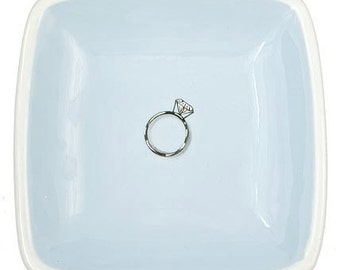 ceramic diamond ring tray